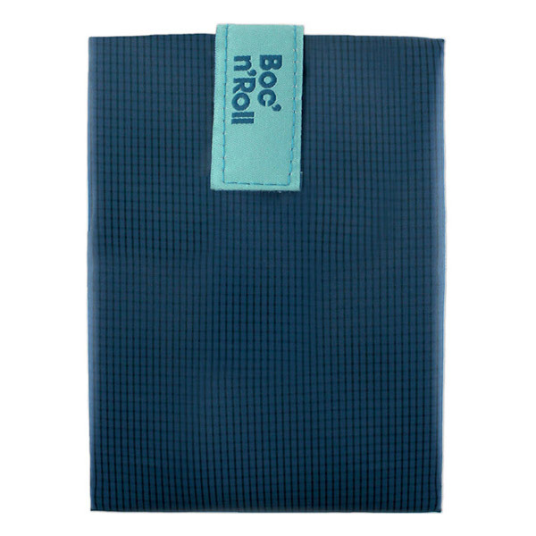 Roll'eat - Emballage sandwich Boc'n'Roll Square Bleu