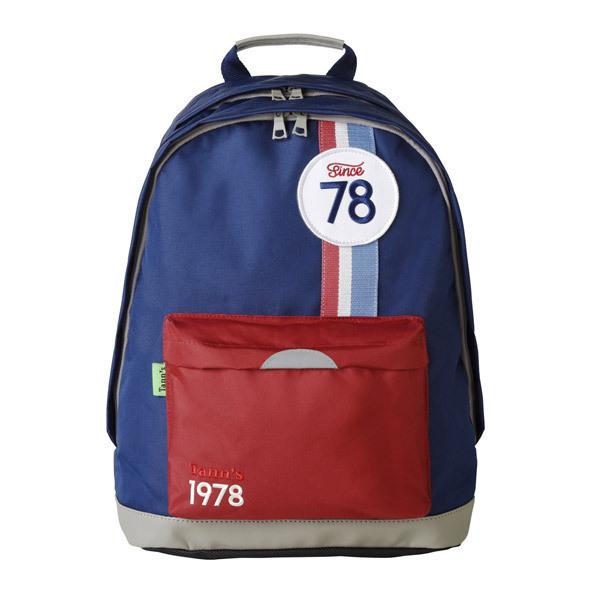 sac dos md collector coccinelle bleu rouge tann 39 s la r f rence bien tre bio b b. Black Bedroom Furniture Sets. Home Design Ideas