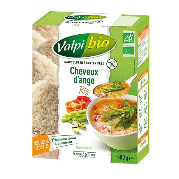 Valpibio - Cheveux d'ange de riz Bio 500g