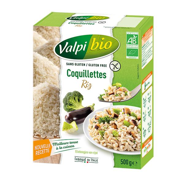 Valpibio - Coquillettes de riz Bio 500g