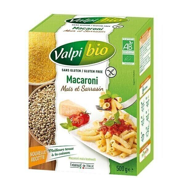 Valpibio - Macaroni maïs et sarrasin 500g