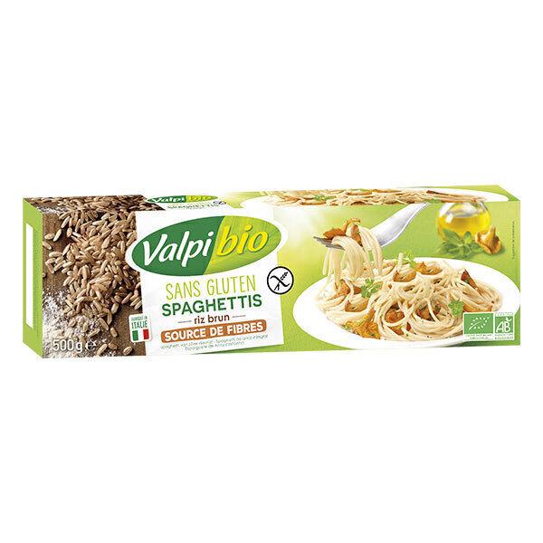 Valpibio - Spaghetti de riz brun Bio 500g