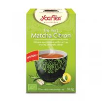 Yogi Tea - The Vert Matcha Citron Bio 17 sachets