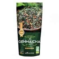 Aromandise - Thé vert sencha et riz Genmaicha 100g