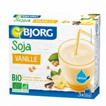 Bjorg - Mini Soja Vanille Calcium 3*25Cl