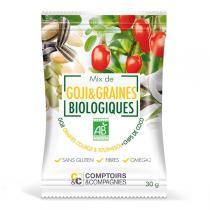 Comptoirs et Compagnies - Mix Baies de Goji et Graines Bio 30g