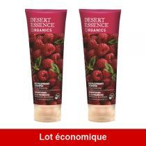Desert Essence - Lot de 2 x Shampooing à la Framboise - 2 x 237mL