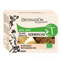 Destination - Thé Vert Grillé Genmaïcha Japon - 20x2g