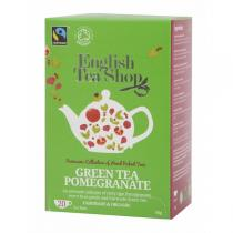 English Tea Shop - Thé vert Grenade Bio 20 sachets