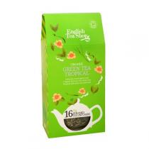 English Tea Shop - Green Tea Tropical Fruit Bio 16 sachets