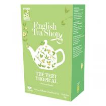 English Tea Shop - Thé vert Tropical Bio 20 sachets
