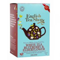 English Tea Shop - Thé blanc myrtille Bio 20 sachets