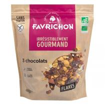 Favrichon - Flakes 3 Chocolats 400g