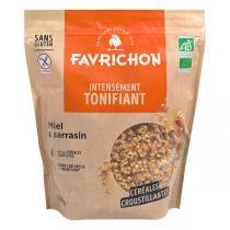 Favrichon - Muesli bio croustillant Miel & Sarrasin 500g