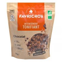 Favrichon - Muesli croustillant Chocolat 500g
