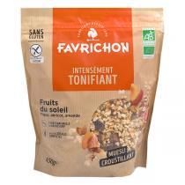 Favrichon - Muesli croustillant Fruits du soleil Bio 450g