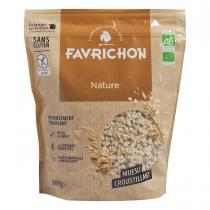 Favrichon - Muesli croustillant Nature 500g