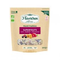 Favrichon - Muesli tradition Superfruits Bio 500g