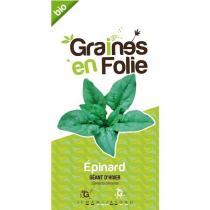 Graines en Folie - Graines d'Epinard Géant d'Hiver AB