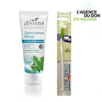 Packs don en nature - Pack don en nature Brosse à dents et Dentifrice