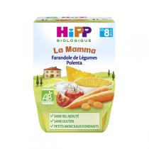 Hipp - Farandole de Légumes Polenta 2x190g