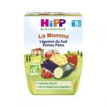 Hipp - Légumes du Sud Petites Pâtes 2x190g