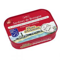 Le phare d'Eckmuhl - Sardines à la tomate et huile d'olive bio 115g