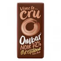 Ombar - Chocolat 72 % cacao cru 35g