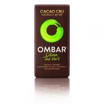 Ombar - Chocolat Citron et Thé vert 35g