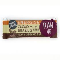 Planet Organic - Barre énergétique Noix du brésil Cacao 30g