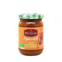 ProSain - Caviar d'aubergines à la Catalane Bio 200g
