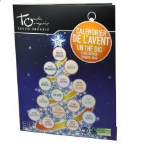 Touch Organic - Calendrier de l'Avent - thés bio - 24 sachets