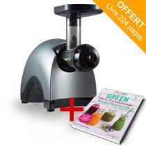 Yden - Extracteur de jus Yden TG100 + Livre offert