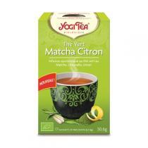 Yogi Tea - Thé Vert Matcha Citron Bio 17 sachets