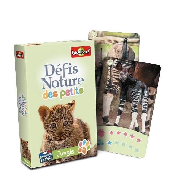 Bioviva - Defis des Petits - Jungle - Des 3 ans