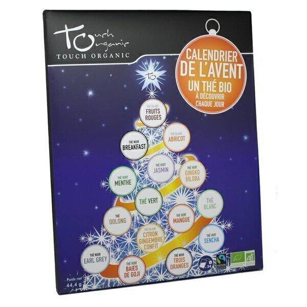 Touch Organic - Calendrier de l'Avent - thes bio - 24 sachets