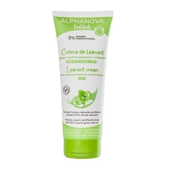 Alphanova - Crème de liniment 4 en 1 - 200ml