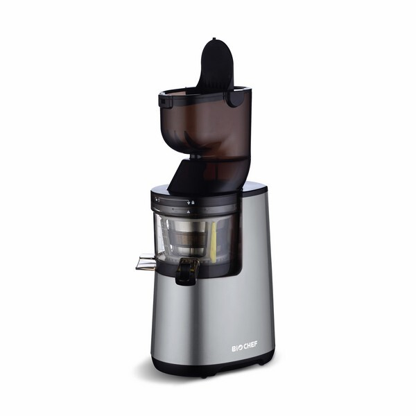 Difference Entre Slow Juicer Et Centrifugeuse : Extracteur de Jus Atlas Whole Argent BioChef Acheter sur Greenweez.com