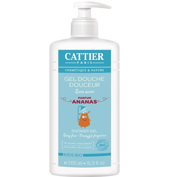 Cattier - Gel douche douceur ananas 500ml