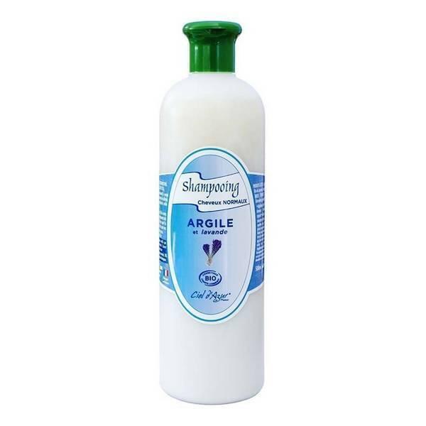 Ciel d'azur - Shampooing à l'argile cheveux normaux 500ml