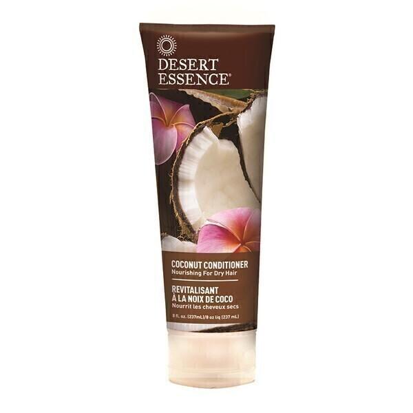 Desert Essence - Lot de 2 x Après-Shampooing Revitalisant à la Noix de Coco