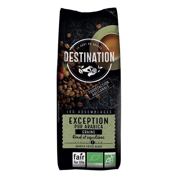Destination - Café grain Exception pur arabica 250g