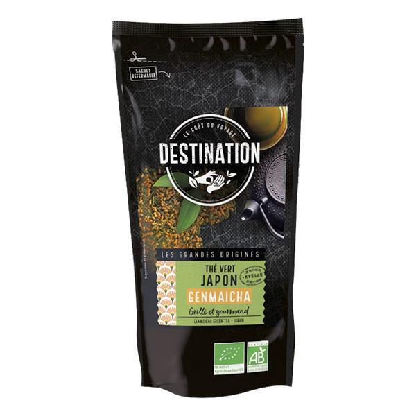 Destination - Thé vert Genmaïcha du Japon 100g