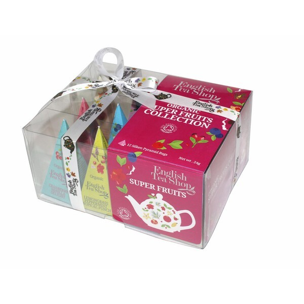 English Tea Shop - Coffret PRISM Superfruit Bio 12 sachets