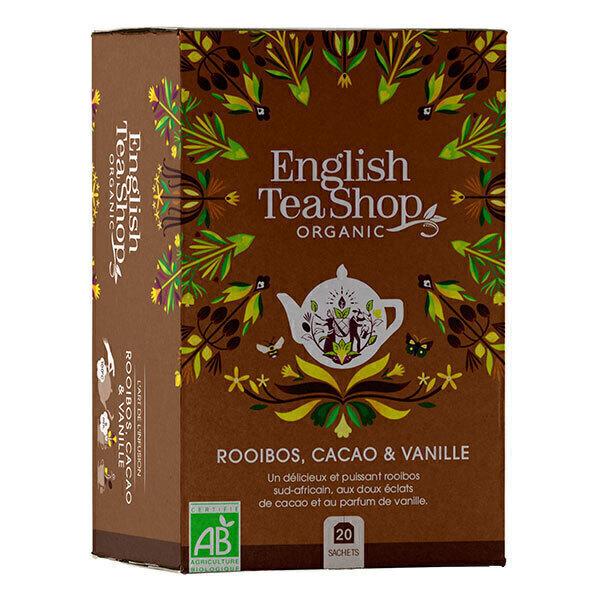 English Tea Shop - Rooibos Cacao vanille 20 sachets