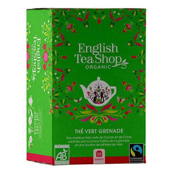 English Tea Shop - Thé vert Grenade 20 sachets