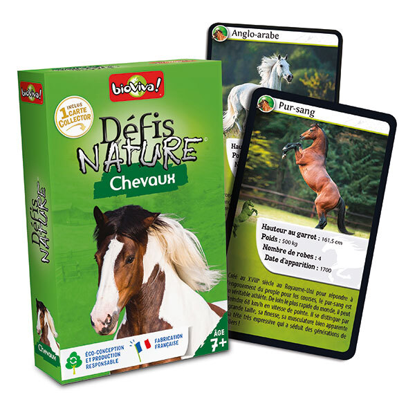 Bioviva - Defis Nature - Chevaux - Des 7 ans