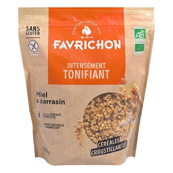 Favrichon - Muesli croustillant Miel & Sarrasin 500g
