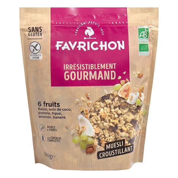 Favrichon - Muesli croustillant 6 fruits 500g