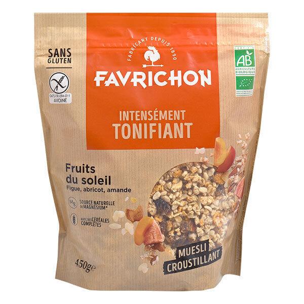 Favrichon - Muesli croustillant Fruits du soleil 450g